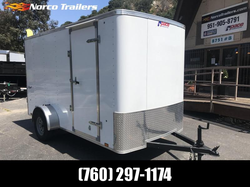 2019 Pace American Outback 6' x 12' Single Axle Cargo Trailer