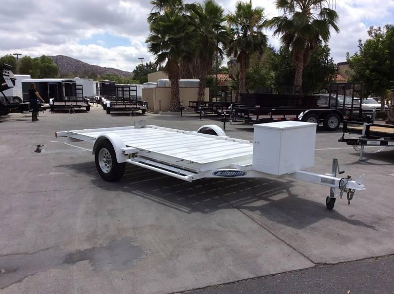 1980 Zieman 6' x 12' ATV Trailer