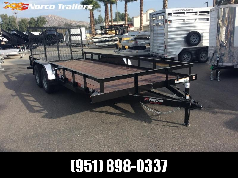 "2019 Sun Country 82"" x 18' Tandem Axle Utility Trailer"