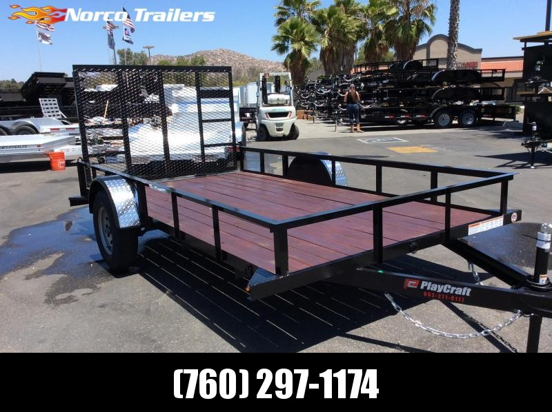 "2018 Sun Country Playcraft 77"" x 12' Single Axle Utility Trailer"