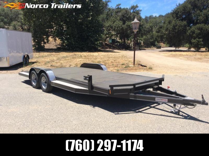 "2018 Innovative Trailer Mfg. Steel Floor Car Hauler 83"" x 20' Flatbed Trailer"