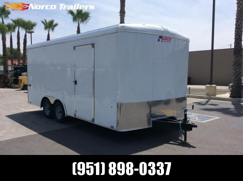 2019 Pace American Journey 8.5' x 18' Tandem Axle Car / Racing Trailer
