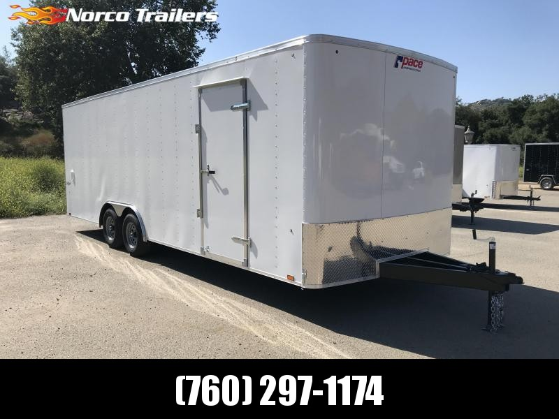 2019 Pace American Outback 8.5' x 24' 10K Auto Car / Racing Trailer