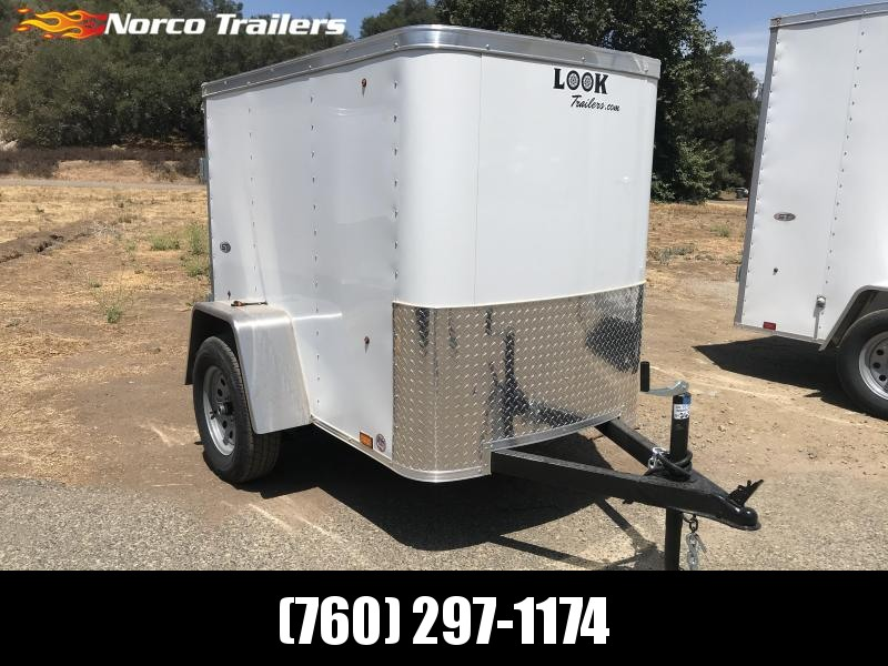 2018 Look Trailers STLC 4 x 6 Enclosed Cargo Trailer in CA
