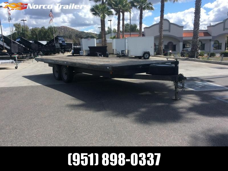 "2012 Playcraft 102"" X 20' Medium Duty Flatbed Trailer"