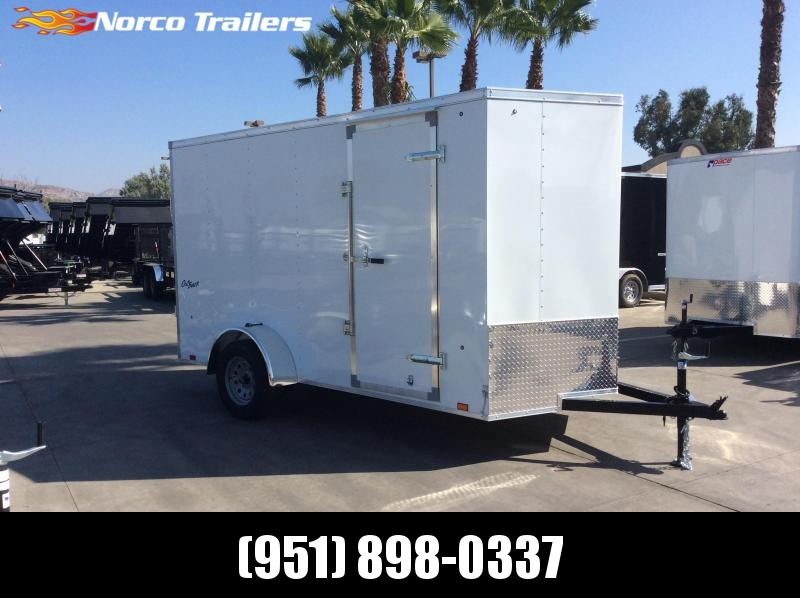 2019 Pace American OBV 6' X 12' Single Axle Enclosed Cargo Trailer