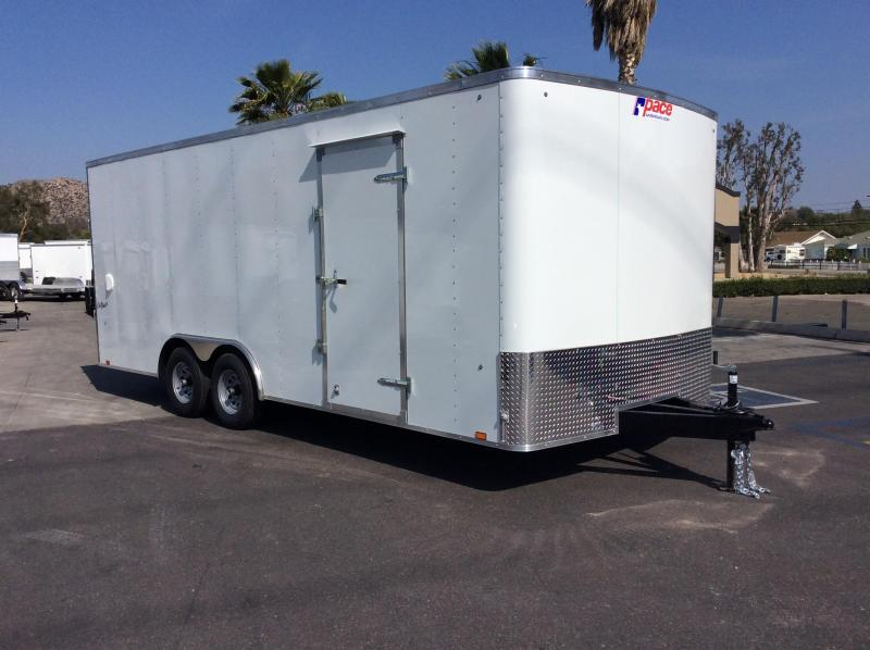 2018 Pace American Outback 8.5' x 20' Tandem Axle Car / Racing Trailer