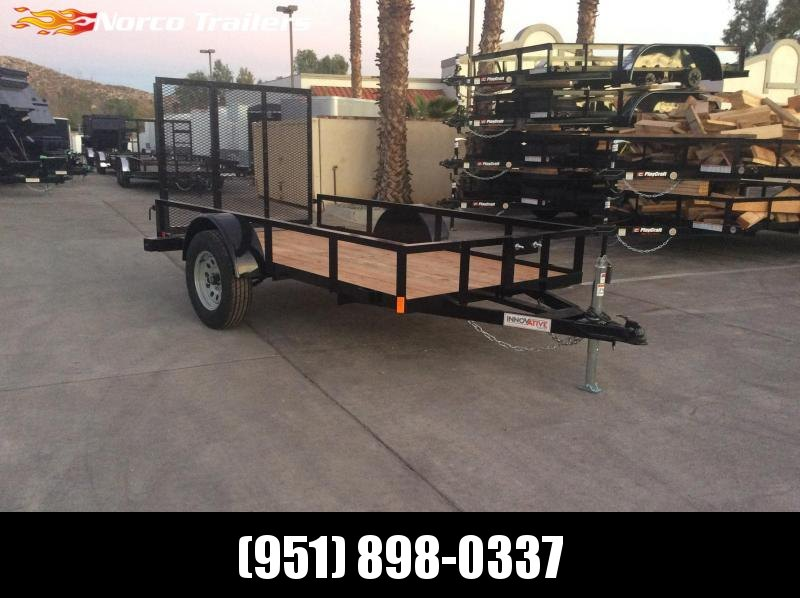 2019 Innovative Trailer Mfg. Economy Wood 5' x 10' Utility Trailer