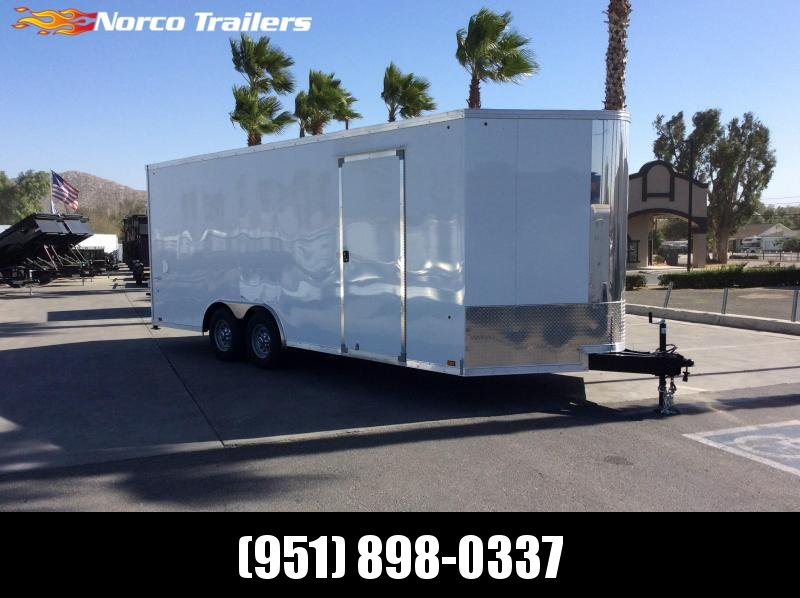 2019 Look Trailers Vision 8.5' x 20' Tandem Axle Car / Racing Trailer