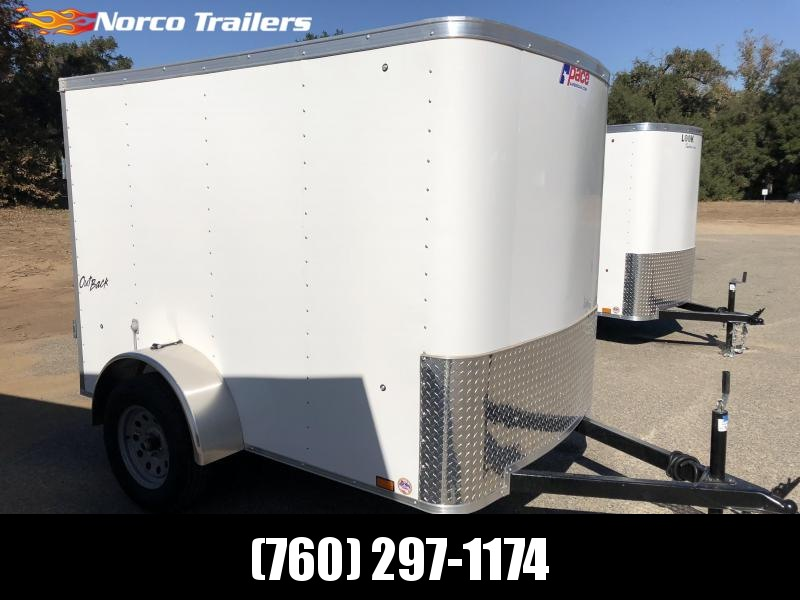 2019 Pace American Outback 5' x 8' Enclosed Cargo Trailer