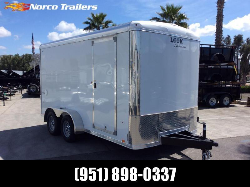 2019 Look Trailers VISION 7 x 14 Tandem Axle Enclosed Cargo Trailer