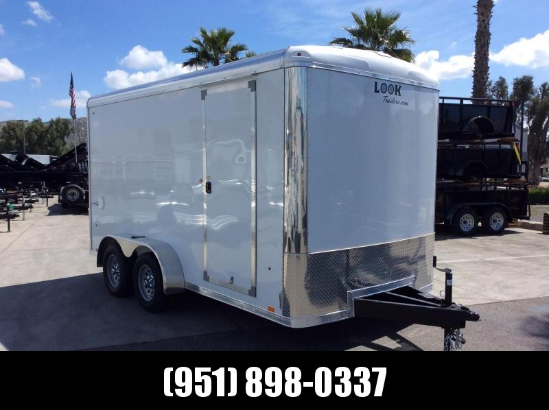 2019 Look Trailers VISION 7 x 14 Tandem Axle Enclosed Cargo Trailer