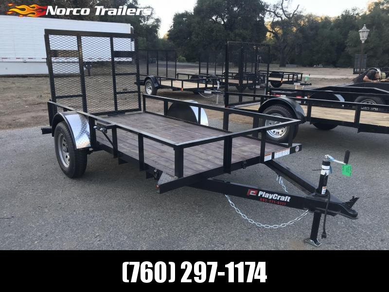 2018 Playcraft 5' x 10' Single Axle Utility Trailer