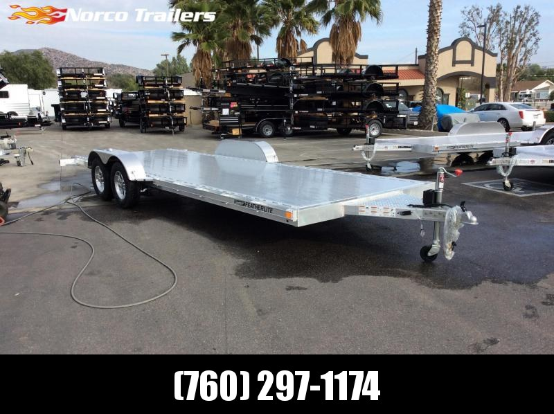 2018 Featherlite 8.5 x 22' 3182 Flatbed Car / Racing Trailer
