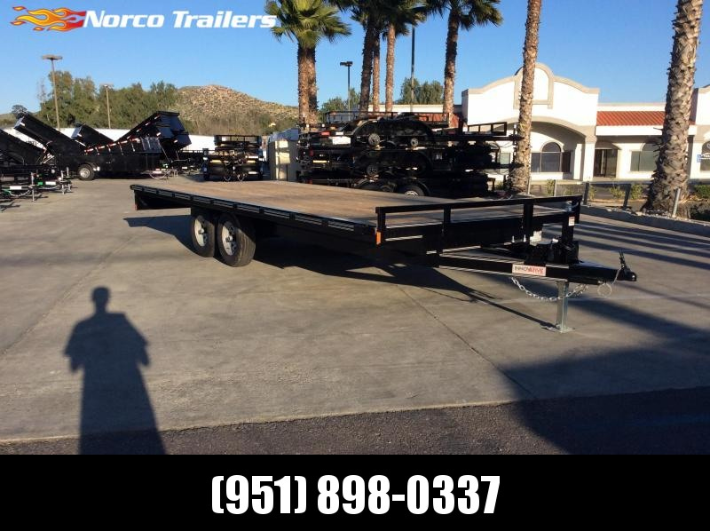 "2019 Innovative Trailer Mfg. Medium Deckover 102"" x 20' Flatbed Trailer"
