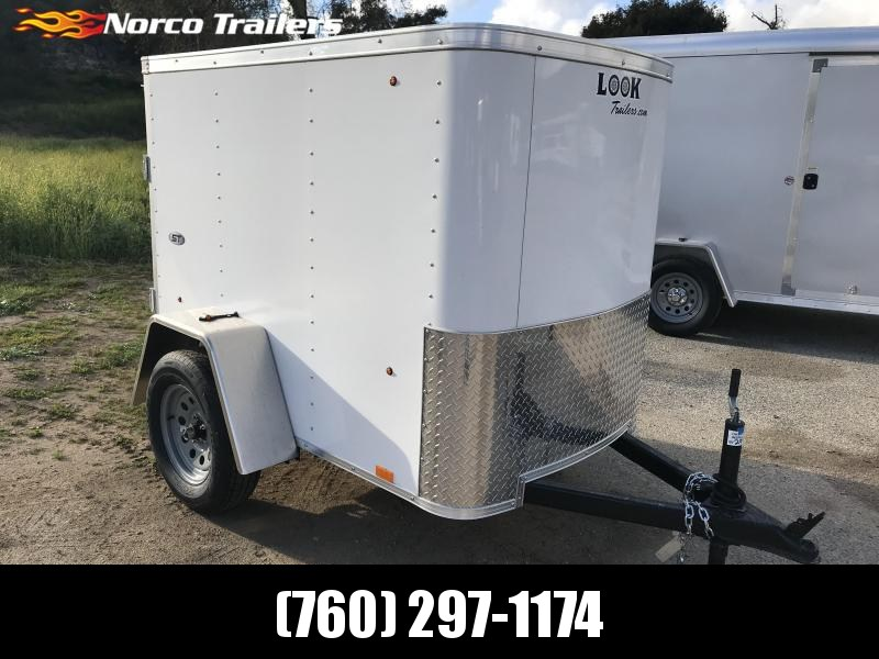 2019 Look Trailers STLC 4' x 6' Enclosed Cargo Trailer