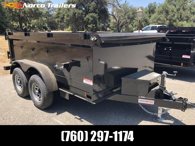 "2018 Innovative Trailer Mfg. 83"" x 10' 10K Dump Trailer"