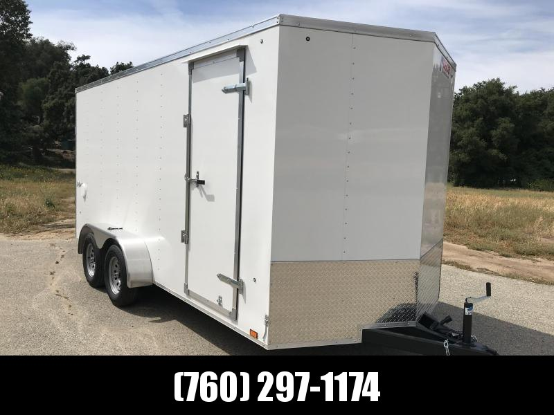 2019 Pace American Outback Vnose 7' x 16' Enclosed Cargo Trailer