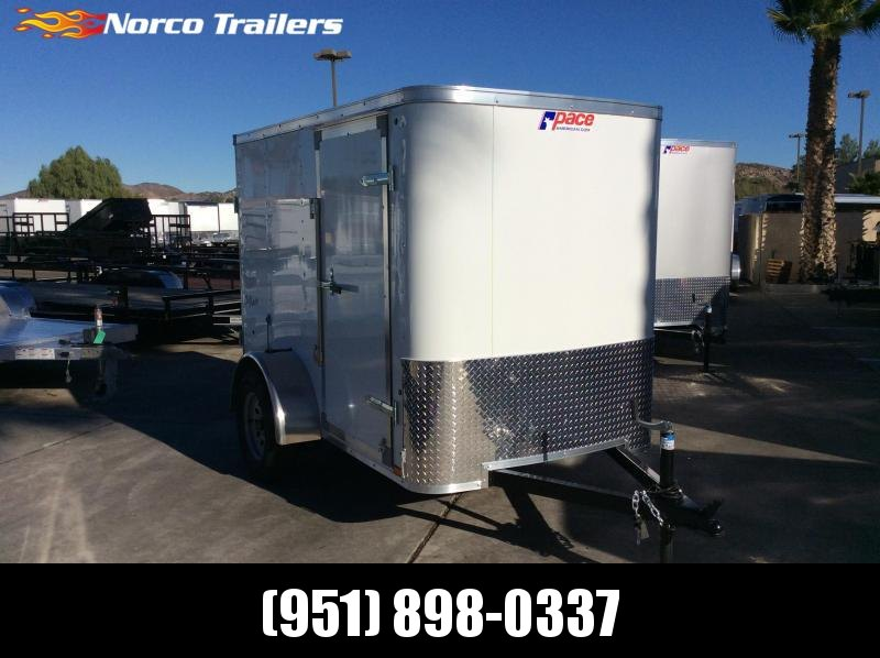 2019 Pace American Outback 5 x 8 Single Axle Enclosed Cargo Trailer