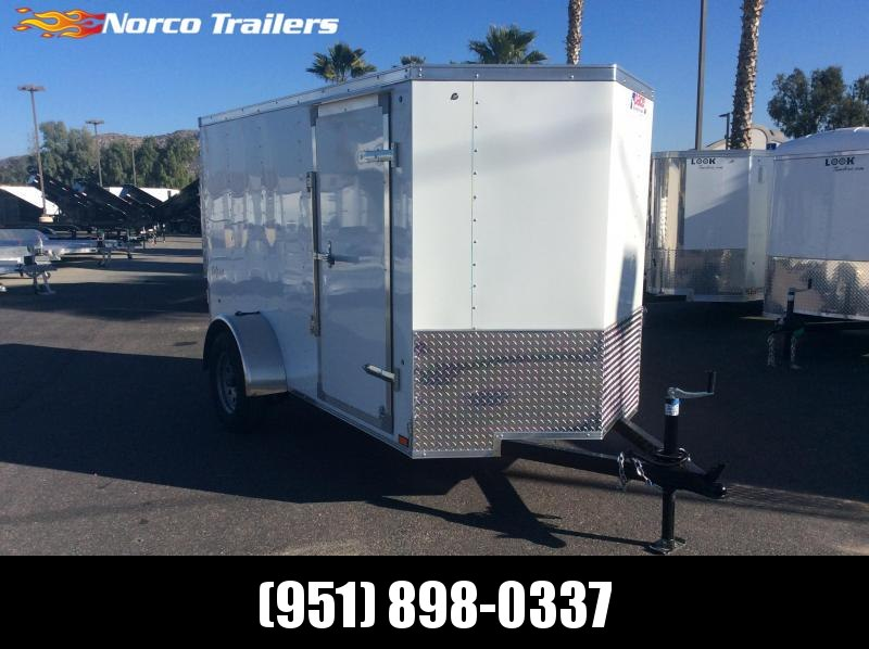 2019 Pace American Outback 5' x 10' Single Alxe Enclosed Cargo Trailer