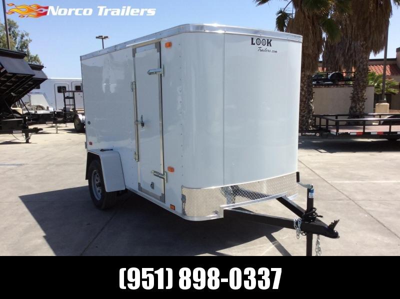 2018 Look Trailers STLC 5' x 10' Single Axle Enclosed Cargo Trailer