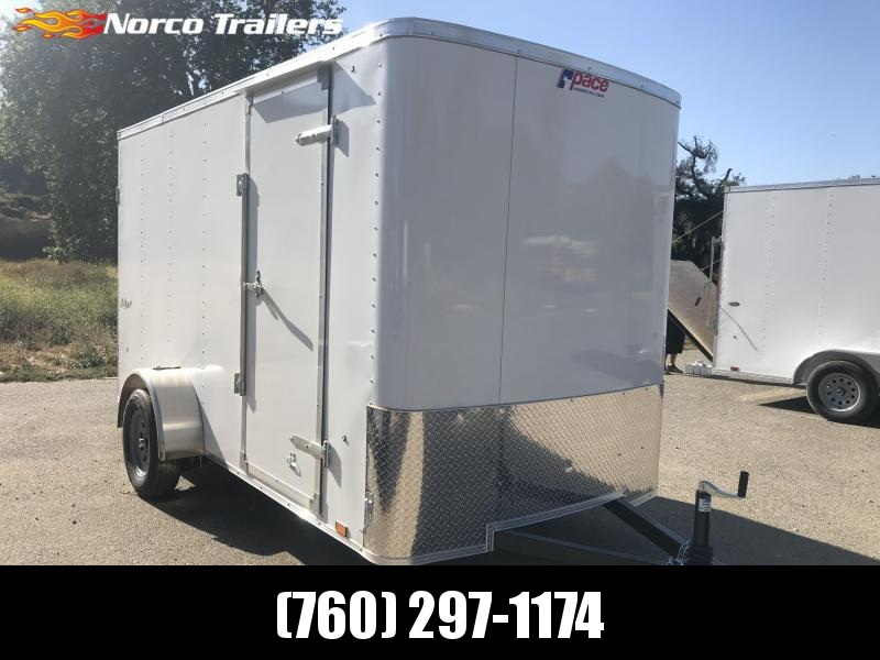 2019 Pace American Outback 6' x 12' Cargo / Enclosed Trailer