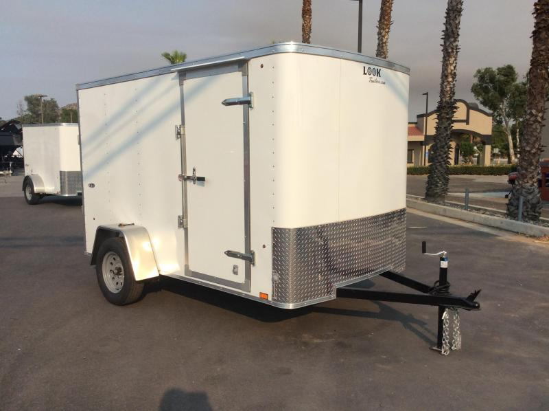 2018 Look Trailers STLC 6' x 10' Single Axle Enclosed Cargo Trailer