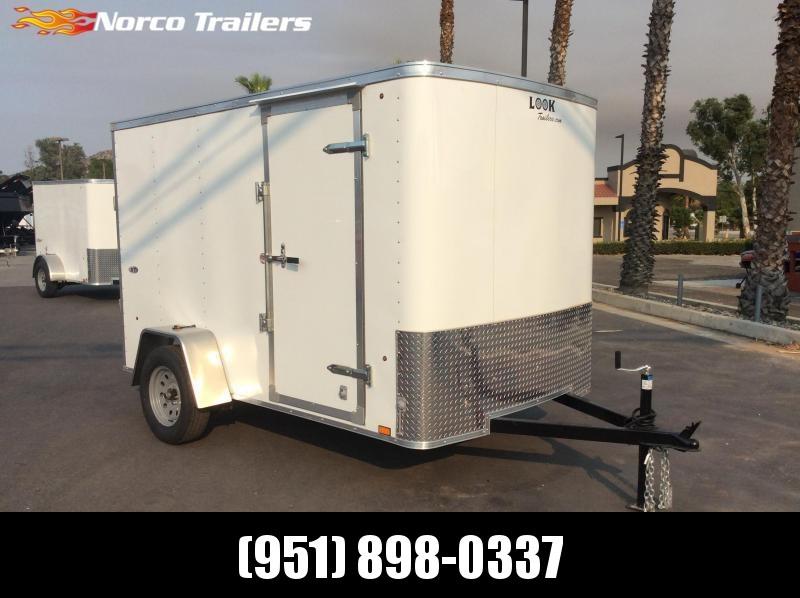 2018 Look Trailers STLC 6' x 10' Single Axle Enclosed Cargo Trailer in CA