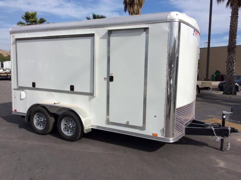 2018 Pace American Cargo Sport Round Top 7' x 14'  Enclosed Concession Trailer