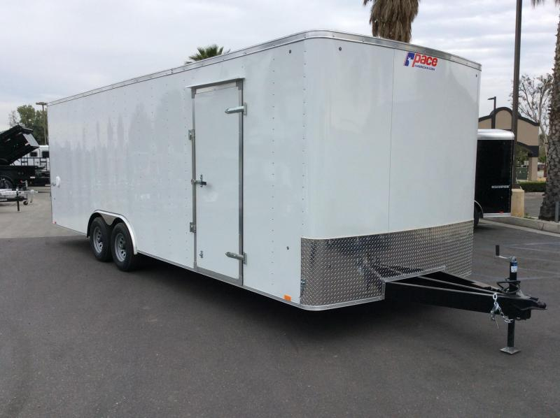 2018 Pace American Outback 8.5 x 24' 10K Car / Racing Trailer