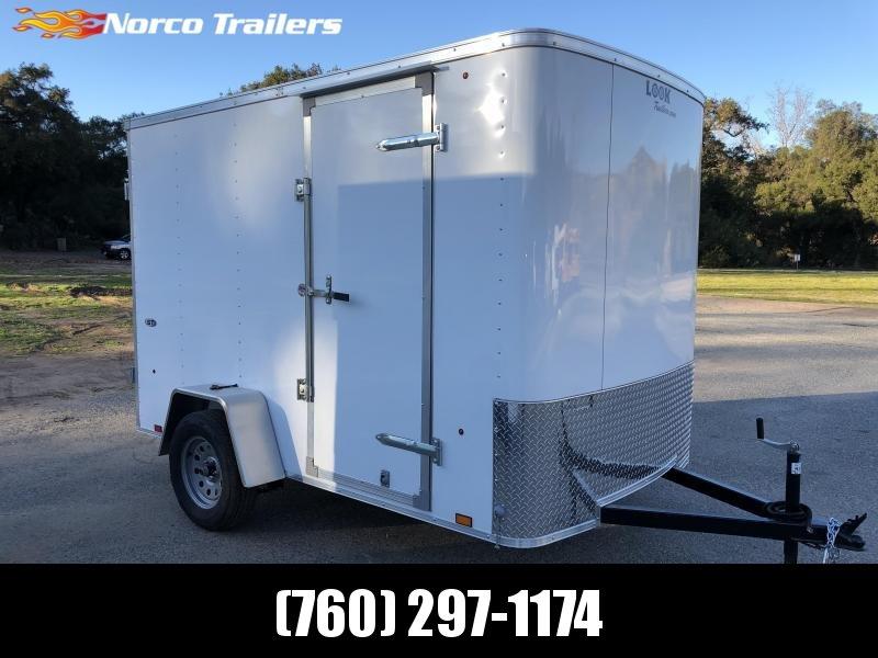 2019 Look Trailers STLC 6 x 10 Single Axle Enclosed Cargo Trailer