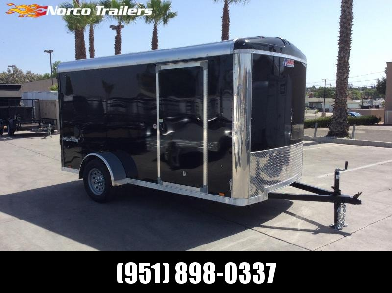2019 Pace American Cargo Sport 6' x 12' Single Axle Enclosed Cargo Trailer