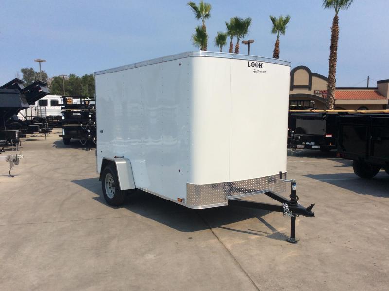 2018 Look Trailers STLC 6 x 10' Single Axle Enclosed Cargo Trailer