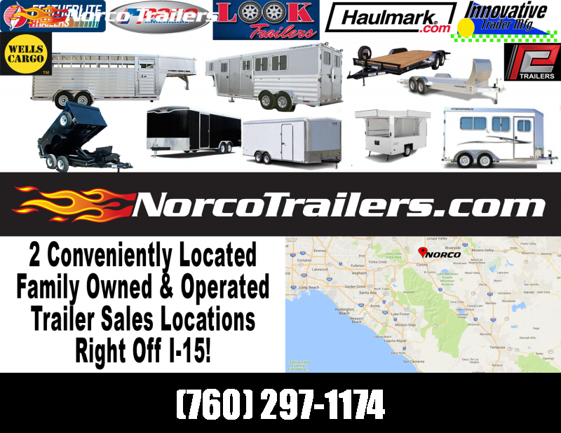 2019 Look Trailers Vision 6' x 10' Enclosed Cargo Trailer