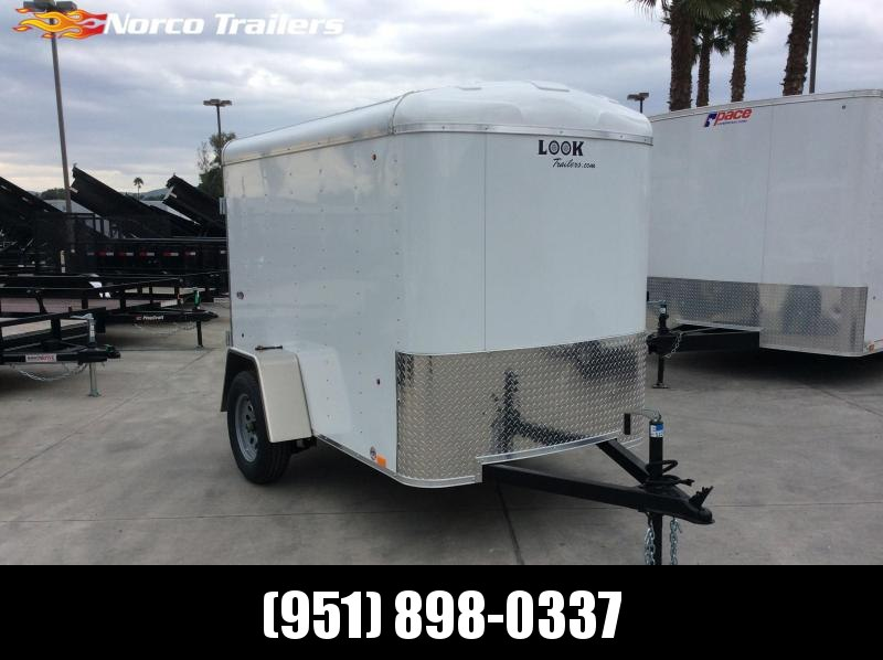 2019 Look Trailers STRLC 5' X 8' Single Axle Enclosed Cargo Trailer