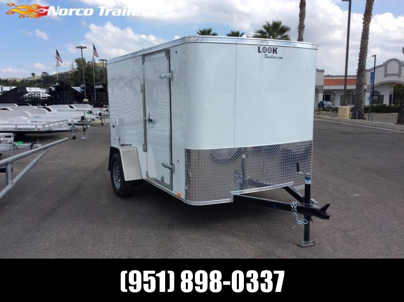2019 Look Trailers STLC 6' x 10' Single Axle Enclosed Cargo Trailer