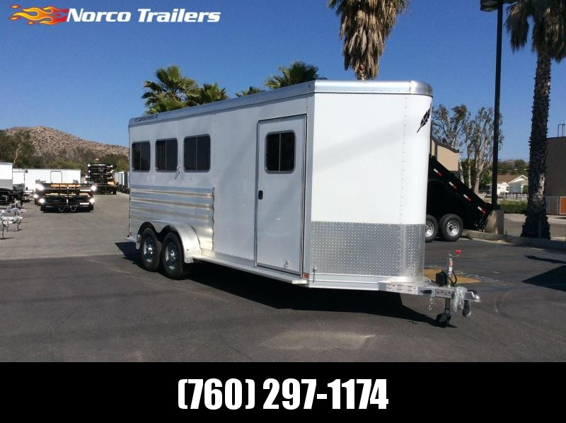 2018 Featherlite 9409 6.7 X 17.8 3 Horse Trailer