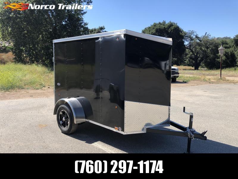 2020 Look Trailers Vnose STLC 5' x 8' Enclosed Cargo Trailer