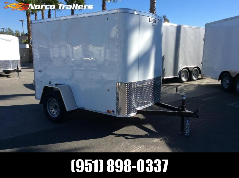 2019 Look Trailers STLC 5 x 8' Single Axle Enclosed Cargo Trailer