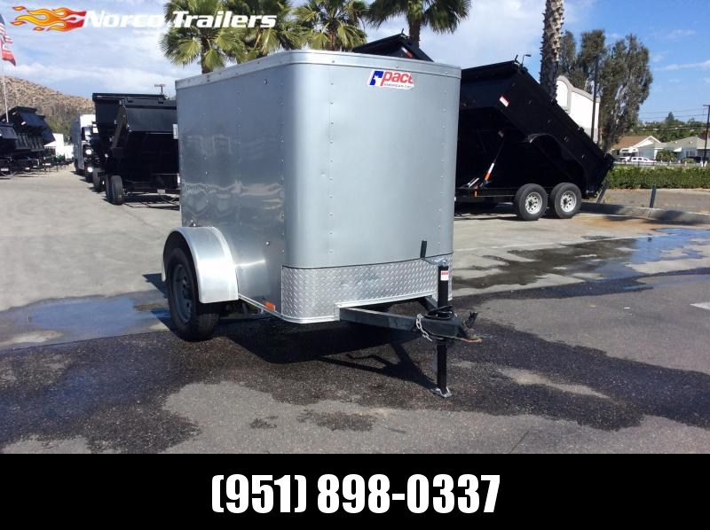 2016 Pace American Outback 4 x 6 Single Axle Enclosed Cargo Trailer