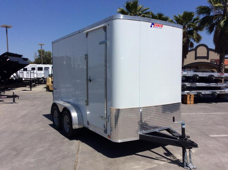 2018 Pace American Outback 6' x 12' Tandem Axle Enclosed Cargo Trailer
