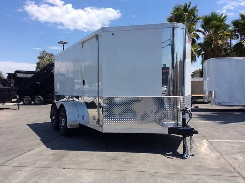 2018 Pace American 7' x 12' Enclosed Motorcycle Trailer