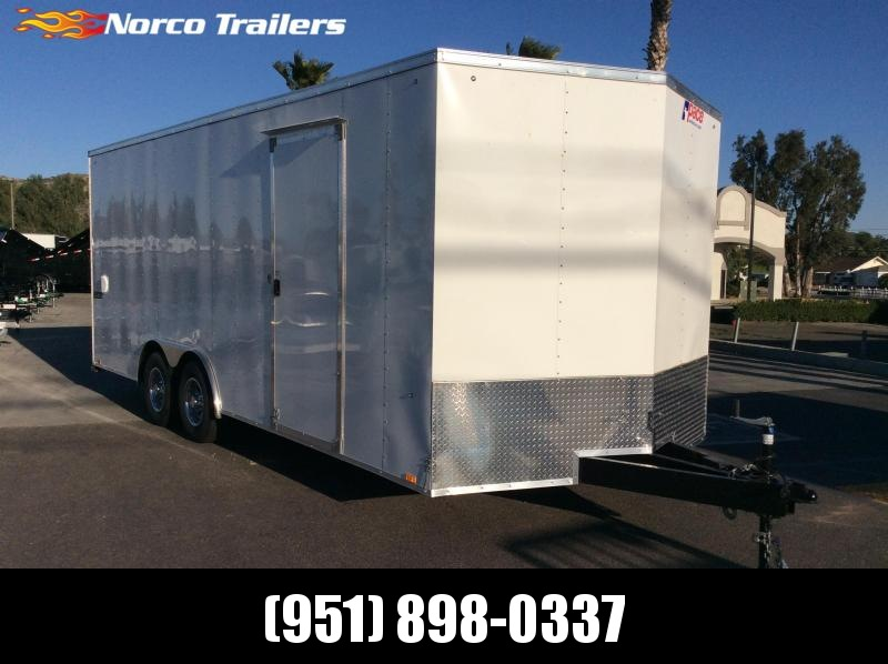 2019 Pace American Journey 8.5' x 20' Tandem Axle Car / Racing Trailer in Ashburn, VA