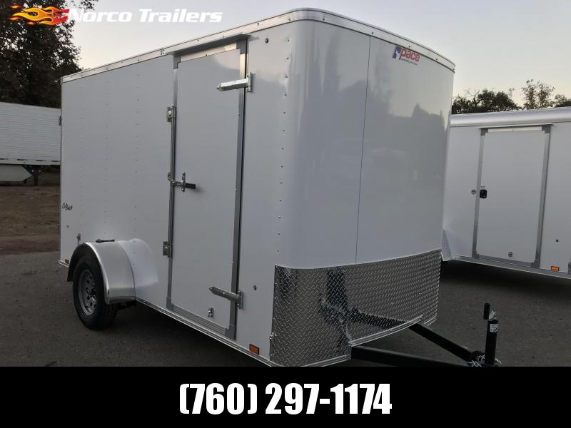 2018 Pace American Outback 6' x 12' Cargo / Enclosed Trailer