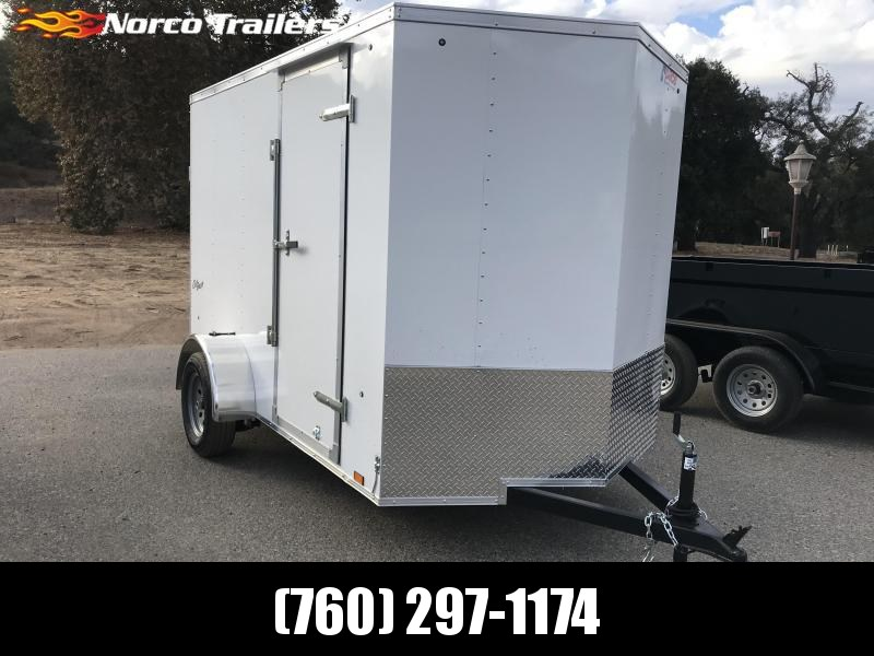 2019 Pace American Vnose Outback 6' x 10' Enclosed Cargo Trailer