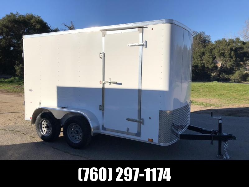 2019 Look Trailers STLC 6' x 12' 7K Enclosed Cargo Trailer