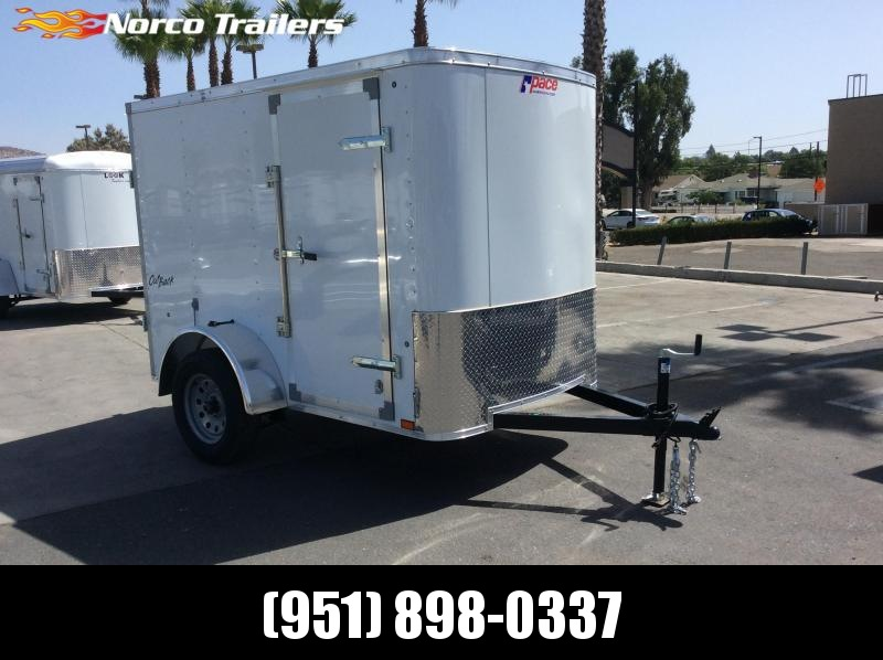 2019 Pace American Outback 5' x 8' Single Axle Enclosed Cargo Trailer in Ashburn, VA