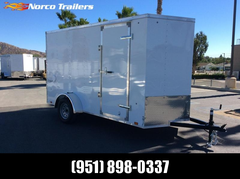 2019 Pace American Outback 6' x 12' Single Axle Enclosed Cargo Trailer in Ashburn, VA