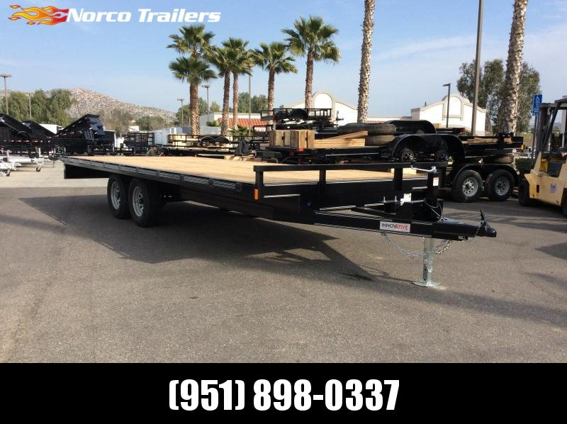2019 Innovative Trailer Mfg. MD Deckover 102 X 20 Flatbed Trailer