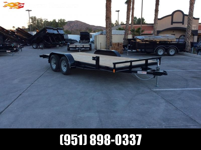 2019 Innovative Trailer Mfg. 83 x 16 Economy Wood Flatbed Trailer